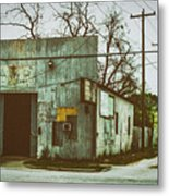 Old Warehouse Metal Print