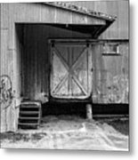 Old Warehouse Norwich Vermont Metal Print
