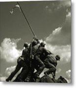 Old Washington Photo - Iwo Jima War Memorial Metal Print
