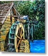 Old Watermill Metal Print