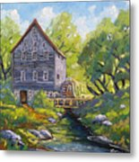 Old Watermill Metal Print