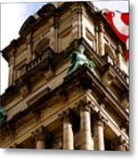 Old Wayne County Building Metal Print