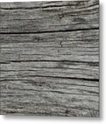 Old Weathered Wood Board Metal Print