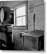 Old Weigh Scale Metal Print