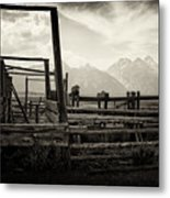 Old West Relics Metal Print