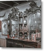 Old West Saloon Metal Print