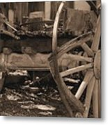 Old Western Wagon # 4 Metal Print