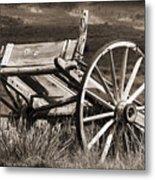 Old Wheels 2 Metal Print