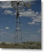 Old Windmill 2 Metal Print