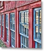 Old Windows Metal Print
