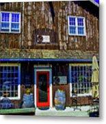 Old Wine Shop Metal Print