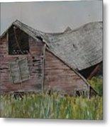 Old Wisconsin Barn Metal Print