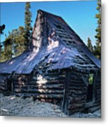 Old Witch Hat Gold Mine Metal Print