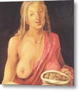 Old With Purse 1507 Metal Print