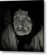 Old Woman Of Ha Long Bay Metal Print