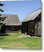 Old Wood House,russia Metal Print by Atul Daimari