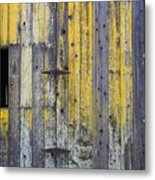 Old Wooden Barn Metal Print