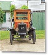 Old Woodie Model T Ford  Metal Print