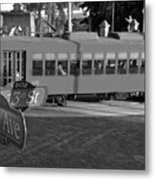 Old Ybor City Trolley Metal Print