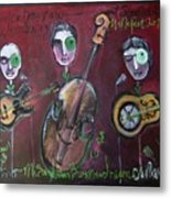 Olde Town Swing Band Metal Print