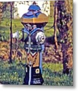 Oldenburg Fireplug Metal Print
