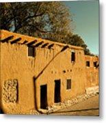 Oldest House In Santa Fe Metal Print