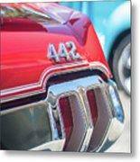 Olds 442 Classic Car Metal Print