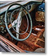 Olds Interior Metal Print