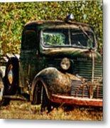 Ole Dodge And Apples Metal Print