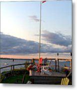 Ole Glory At Rossetti Point  Metal Print