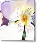 Oleander Flower By Irina Sztukowski Metal Print