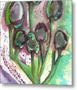 Olive Branches Metal Print