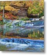 Olmsted Waterfalls Metal Print