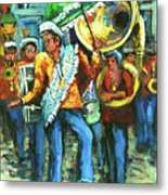 Olympia Brass Band Metal Print
