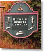 Olympic Complex  Metal Print