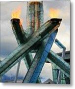 Olympic Flame Metal Print