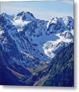 Olympic Mountains Metal Print