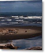 Olympic Peninsula Beach Metal Print