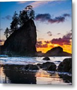 Olympic Sunset Metal Print