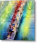 Olympics Rowing 02 Metal Print