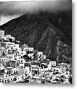 Olympos. Karpathos Island Greece Metal Print