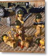 Omaha Beach June 6 1944 Metal Print by Josh Bernstein