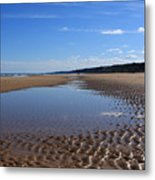 Omaha Beach, Normandy, France. Metal Print