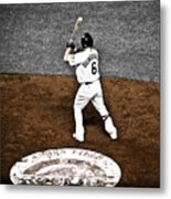 Omar Quintanilla Pro Baseball Player Metal Print