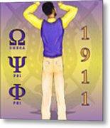 Omega Psi Phi Metal Print