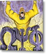 Omega Psi Phi Fraternity Inc Metal Print