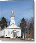 Omena Presbyterian Church Metal Print