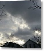 Ominous Clouds Metal Print