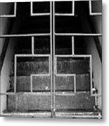 Ominous Stairs Metal Print