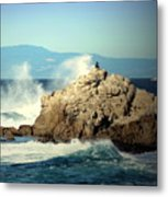 On A Clear Day Cropped Metal Print